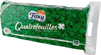 Foxy Quatrefeuilles Papier toaletowy 4 warstwowy