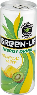 Green-Up Napój energetyzujący o smaku owoców tropikalnych