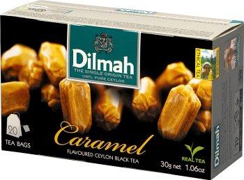 Dilmah Caramel herbata z aromatem karmelu