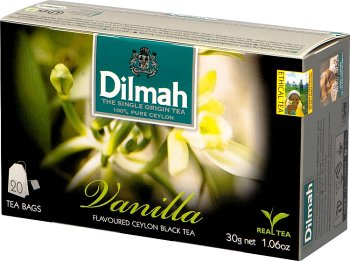 Dilmah Vanilla herbata z aromatem wanilii