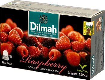 Dilmah Raspberry herbata z aromatem maliny