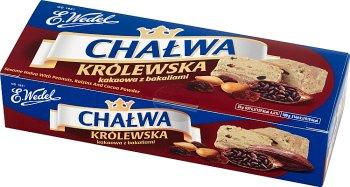 Wedel Chałwa Królewska Waniliowa z kakao i bakaliami