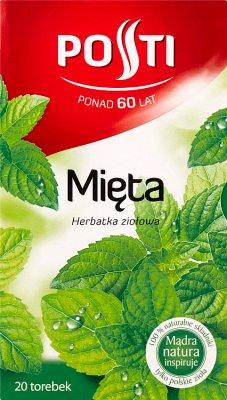 Posti Herbata Ziołowa 20 torebek Mięta