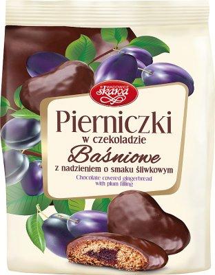 gingembre en chocolat avec une fée remplissage de prune