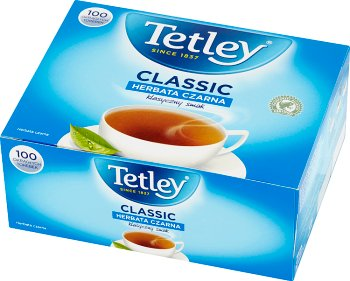 Tetley Everyday Herbata czarna ekspresowa 100 torebek