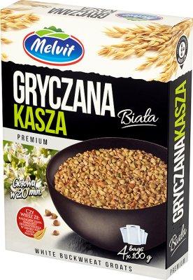 buckwheat groats 4x100g white
