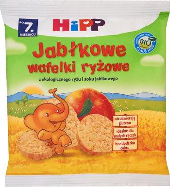 HiPP BIO Jabłkowe wafelki ryżowe po 7. miesiącu 35 g