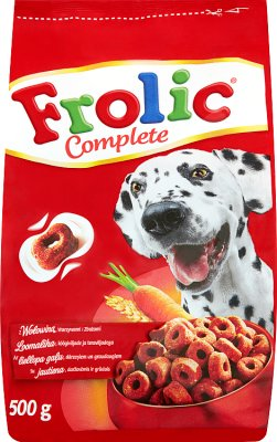 Frolic Karma pełnoporcjowa  dla dorosłych psów z wołowiną,warzywami i zbożami