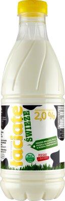 Łaciate mleko świeże 2% tłuszczu, pasteryzowane