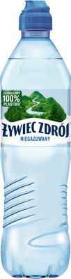 Spa Quellwasser noch in einer praktischen Flasche mit Stopfen