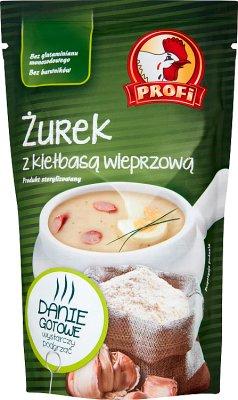 Profi Gotowe danie Żurek z kiełbasą wieprzową