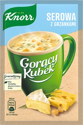 Knorr Gorący Kubek Serowa z grzankami