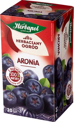 Herbapol Herbaciany Ogród Aronia herbata w torebkach