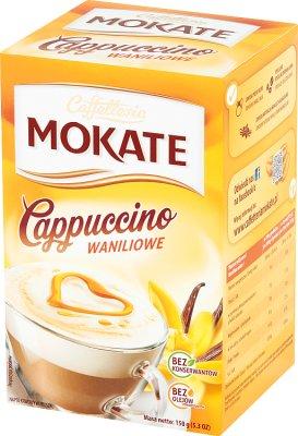 Mokate Caffetteria Cappuccino waniliowe