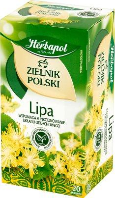 Herbapol Zielnik Polski Lipa herbata w torebkach