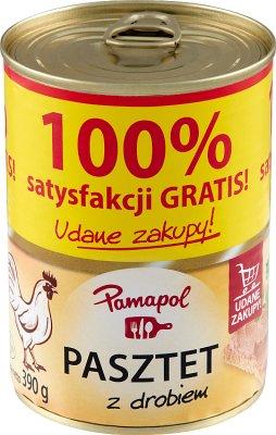 Pamapol Pasztet domowy z drobiem + 100% GRATIS!