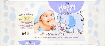 Bella Baby Happy nawilżone chusteczki do pielęgnacji niemowląt wzbogacone witaminą E