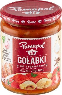 rollos de repollo en salsa de tomate