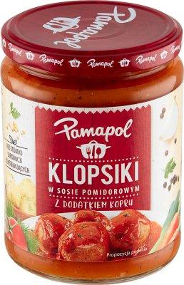 Pamapol Klopsiki w sosie pomidorowym
