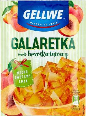 Gellwe Galaretka  Brzoskwiniowa