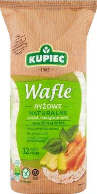 Kupiec Wafle ryżowe naturalne, lekkie i chrupkie