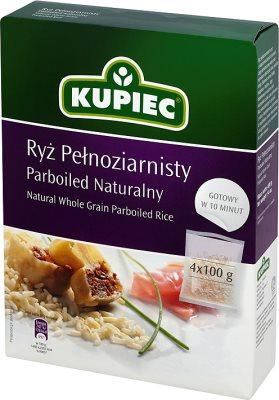 Kupiec Ryż Pełnoziarnisty Parboiled Naturalny