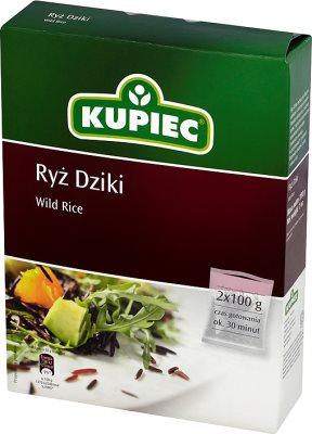 Kupiec Ryż Dziki 2x100g