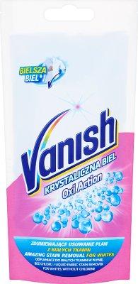 Vanish Oxi Action Krystaliczna Biel odplamiacz do tkanin, saszetka