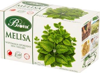 Bifix herbata ziołowa 20 torebek melisa
