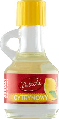 Delecta aromat do ciast, kremów i ponczu cytrynowy