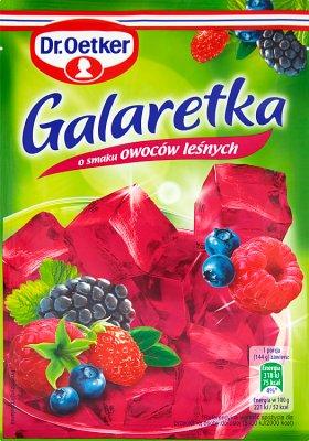 Dr. Oetker Galaretka o smaku owoców leśnych