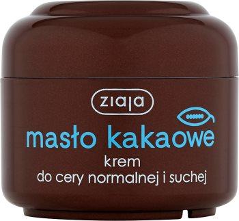 Ziaja masło kakaowe, poprawia koloryt skóry, krem cera normalna, sucha