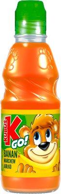 Kubuś GO! sok  banan - marchew - jabłko