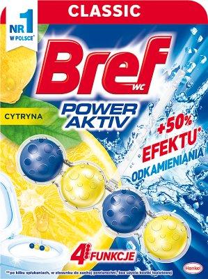 Bref WC Power Aktiv Lemon zawieszka w formie 4 kulek