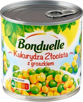 Bonduelle Kukurydza Złocista z Groszkiem