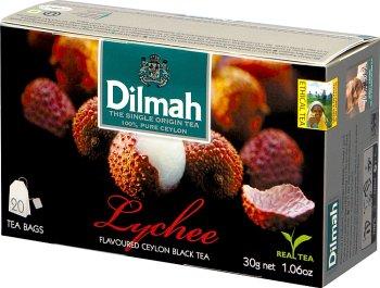Dilmah Lychee herbata czarna z aromatem owocu liczi