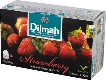 Dilmah Strawberry herbata z aromatem truskawki