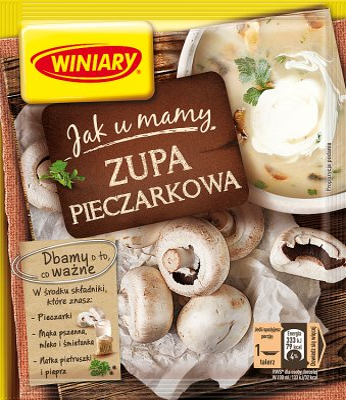 Winiary Jak u Mamy zupa w proszku Pieczarkowa