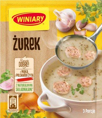 soupe en poudre Zurek