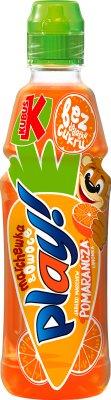Kubuś Play napój owocowy marchew, czerwona pomarańcza, limetka, jabłko, cytryna