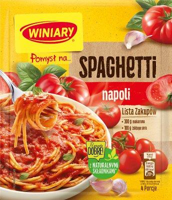 Winiary Pomysł na...  Spaghetti napoli