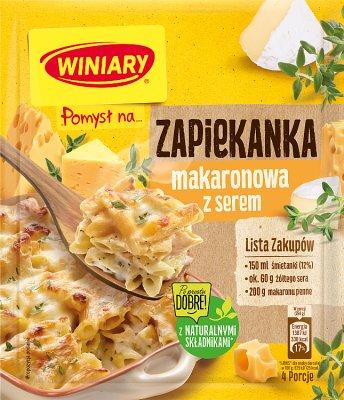 Winiary Pomysł na...  Zapiekankę makaronową z serem