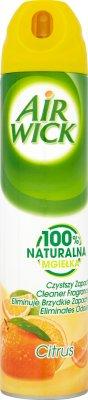 Air Wick odświeżacz powietrza 100% naturalna mgiełka cytrusowy