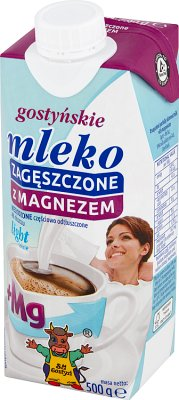 SM Gostyń mleko zagęszczone light niesłodzone 4% tłuszczu z magnezem