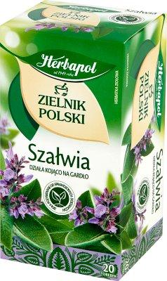 Herbapol Zielnik Polski herbata ziołowa Szałwia