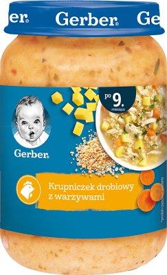 Gerber Kuchnia Polska zupka Tradycyjny krupniczek drobiowy