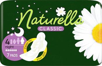Naturella Camomile Classic Night podpaski ze skrzydełkami 7 sztuk