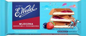 E. Wedel Leśny duet czekolada nadziewana mleczna jagodowa i poziomkowa