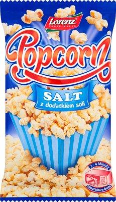 Lorenz Popcorn do przyrządzania w kuchence mikrofalowej z dodatkiem soli