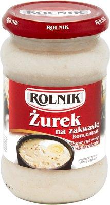 Rolnik zupa  Żurek domowy